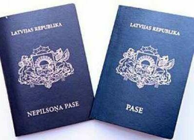 неграждане латвии паспорт
