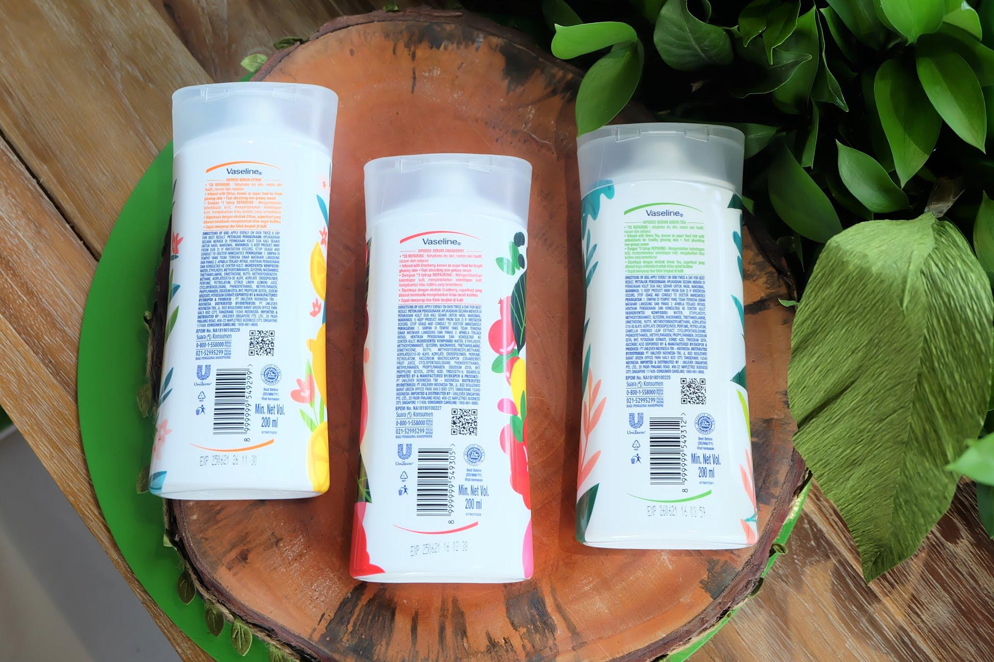 [Review] Vaseline Super Food Skin Serum