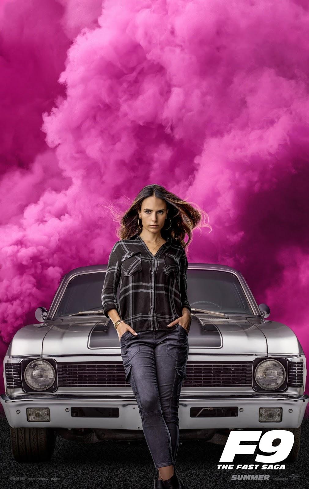 Velozes e Furiosos 9 - Poster Jordana Brewster