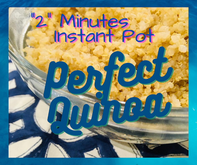 Quinoa made in the Instant Pot