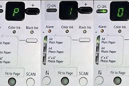 Kode-kode error Printer Canon MP 258 Dan Solusinya