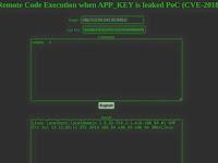 Laravel RCE dengan APP_KEY (CVE-2018-15133)