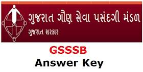 GSSSB Wireman Exam Answer Key Declared In 2017