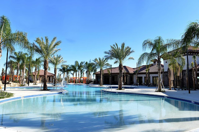 Piscina do Solterra Resort em Orlando