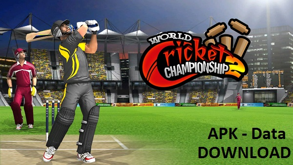 Download World Cricket ChampionShip 2 MOD Unlocked APK DATA Android Game