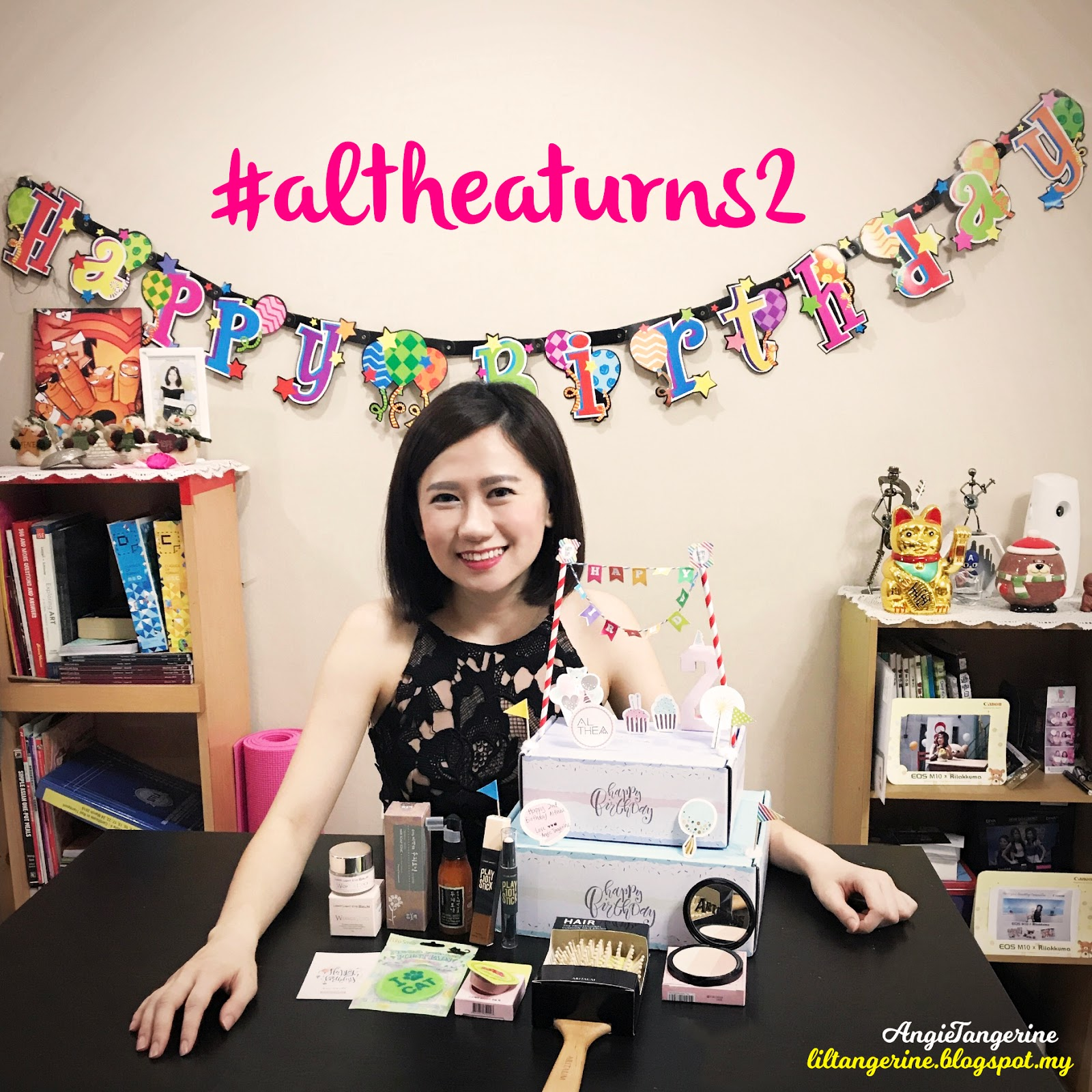 Happy Birthday to Althea #AltheaTurns2