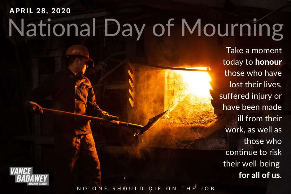 National Day of Mourning Wishes Unique Image