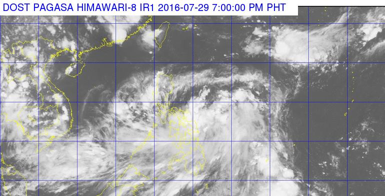 'Bagyong Carina' July 29, 2016 Update: 4 areas under Signal No. 1