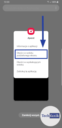 Dodatkowe funkcje przy ostatnich aplikacjach
