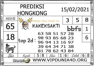 Prediksi Togel HONGKONG DUNIA4D 15 FEBRUARI 2021