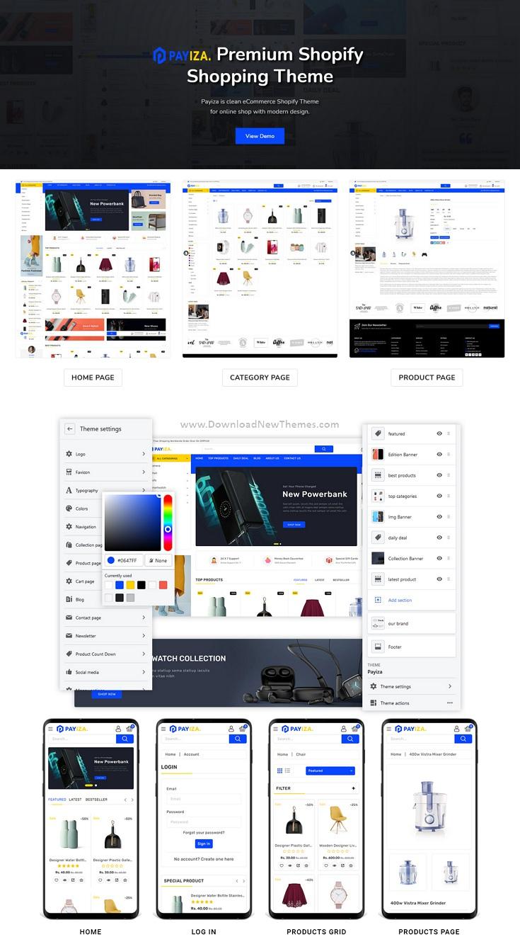Multipurpose Premium Responsive Shopify Theme
