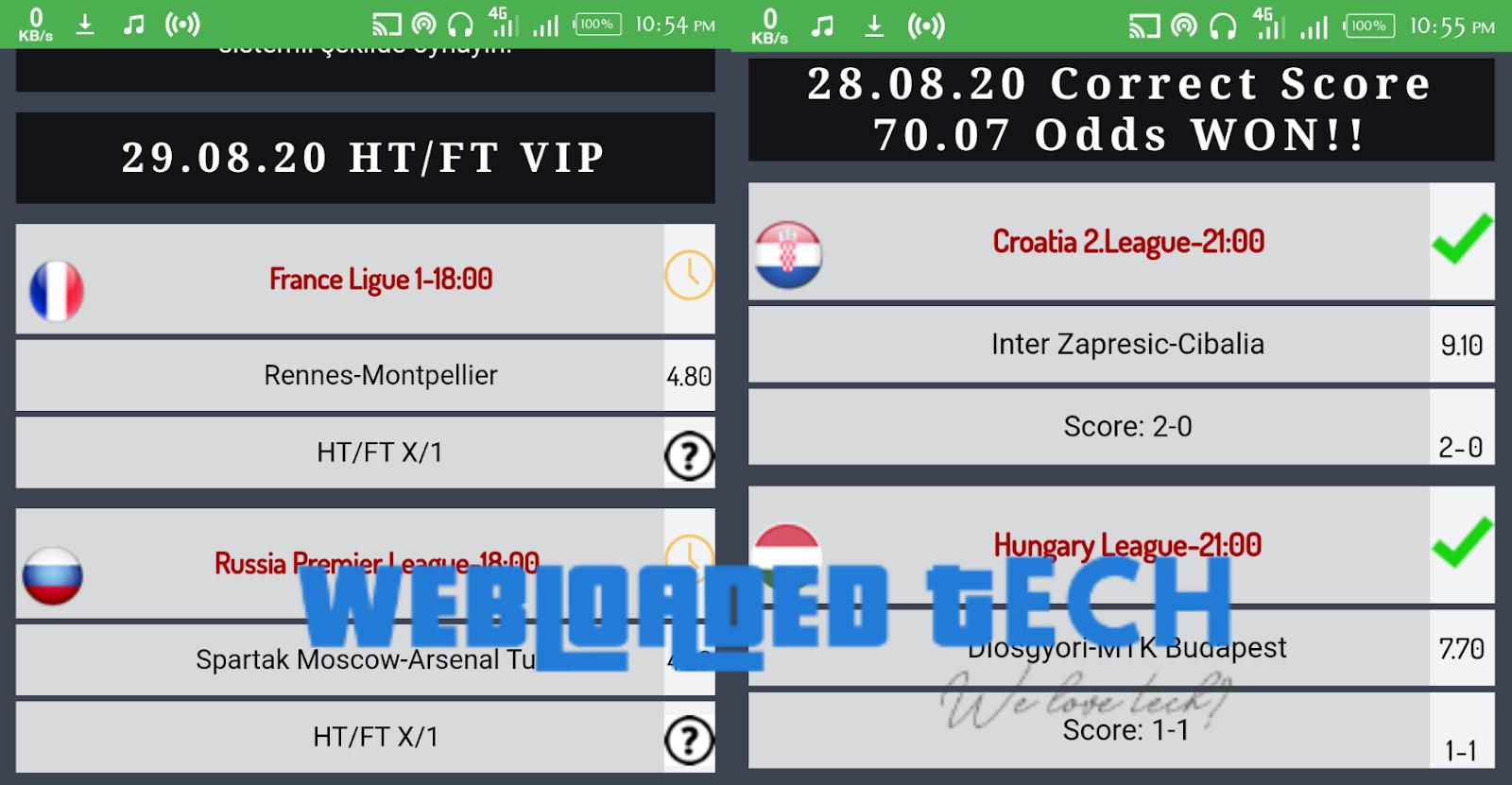 Forza Betting Tips Correct Score Vip Apk