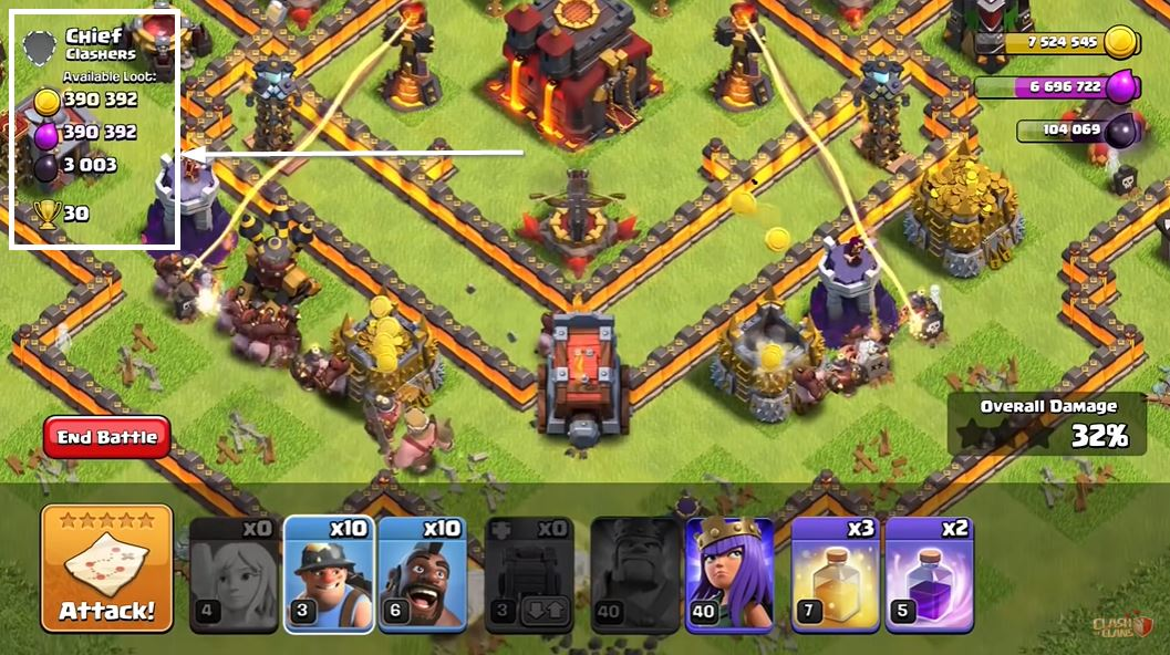 gameplay unlimited coc mod apk