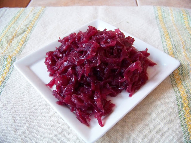 Rødkål (Danish Style Red Cabbage)
