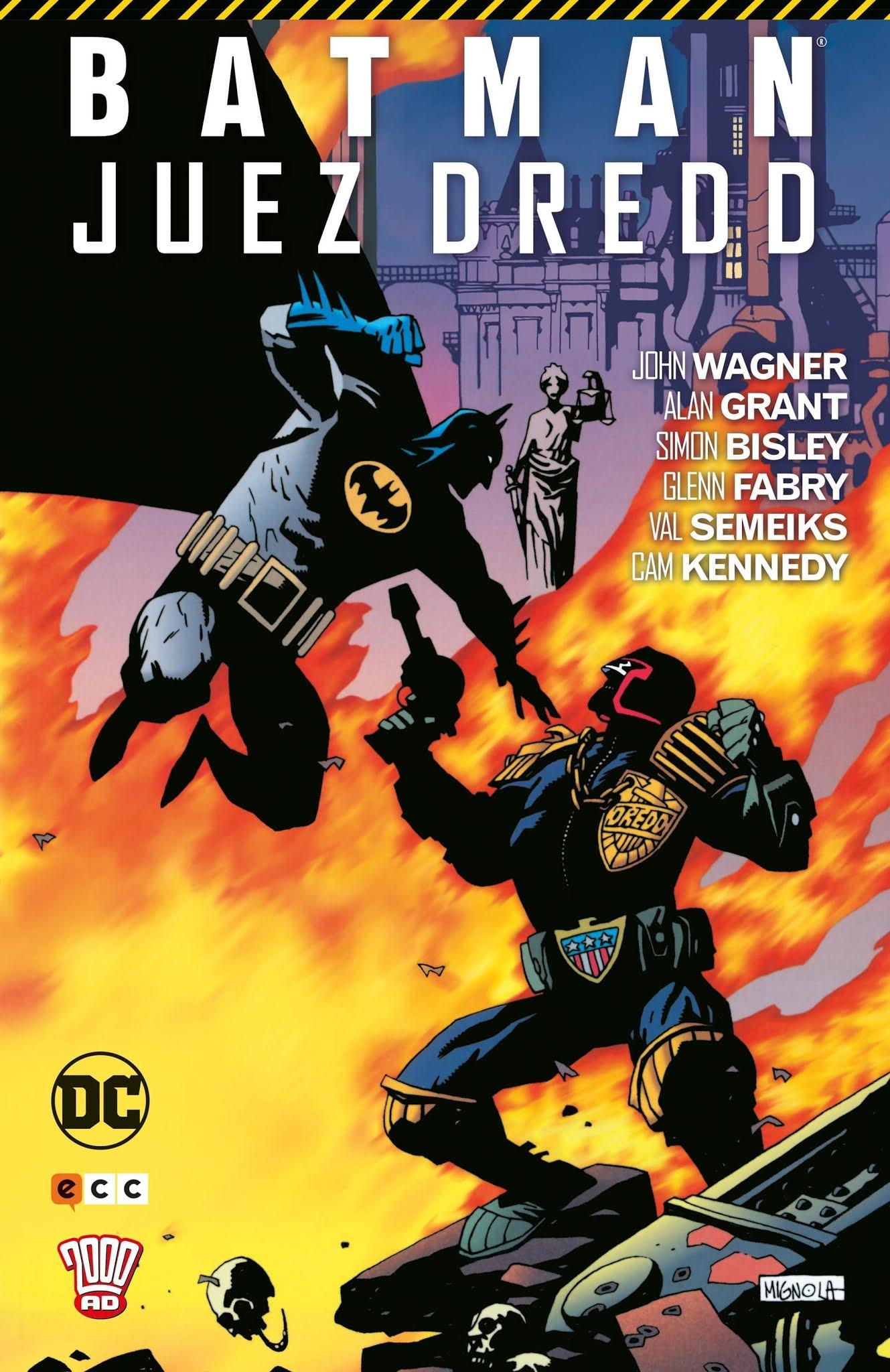 Batman/Juez Dredd, de John Wagner y Alan Grant