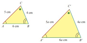 Dua segitiga sebangun