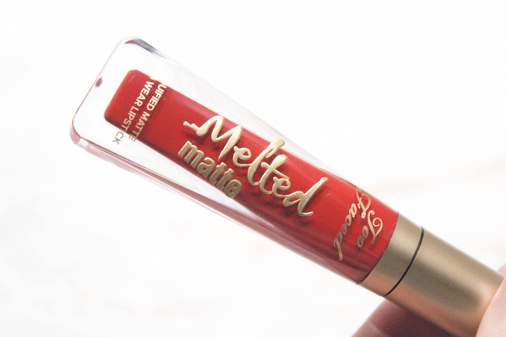 Too Faced Melted Matte Liquid Lipsticks Review