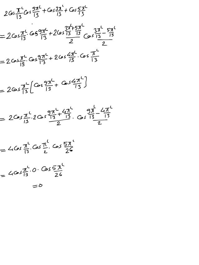 Transformation of trigonometric identities