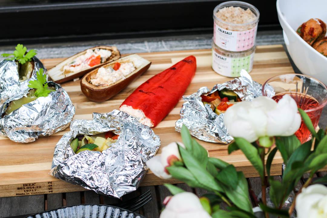 vegetarisch grillen, Fleurcoquet