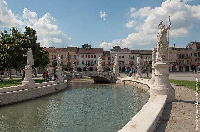 Pratto della Valle imprescindibles Padua Padova Italia