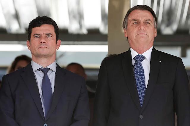 Bolsonaro anuncia indicação de Sergio Moro para o Supremo Tribunal Federal
