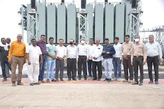 म.प्र.पावर ट्रांसमिशन कंपनी ने माचलपुर में स्थापित किया