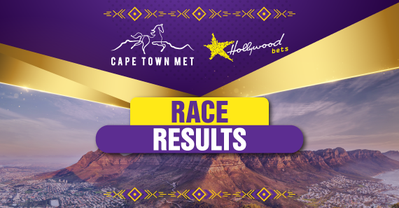 Cape Town Met: Race Day Results