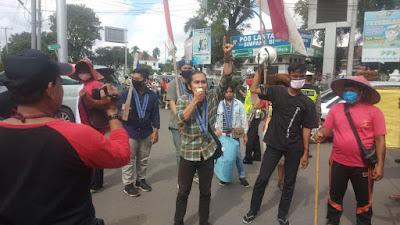 Para Petani Terus Berjuang Sampai Darah Penghabisan Ke Ibu Kota Negara.