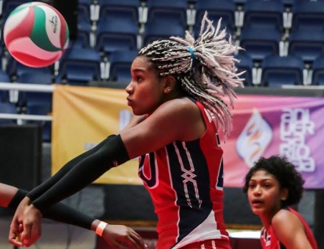 Voleibol de República Dominicana triunfa ante equipo de México