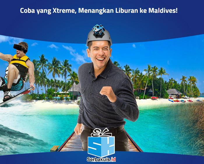 Kontes XL Xtreme 360º Berhadiah Liburan ke Maldives