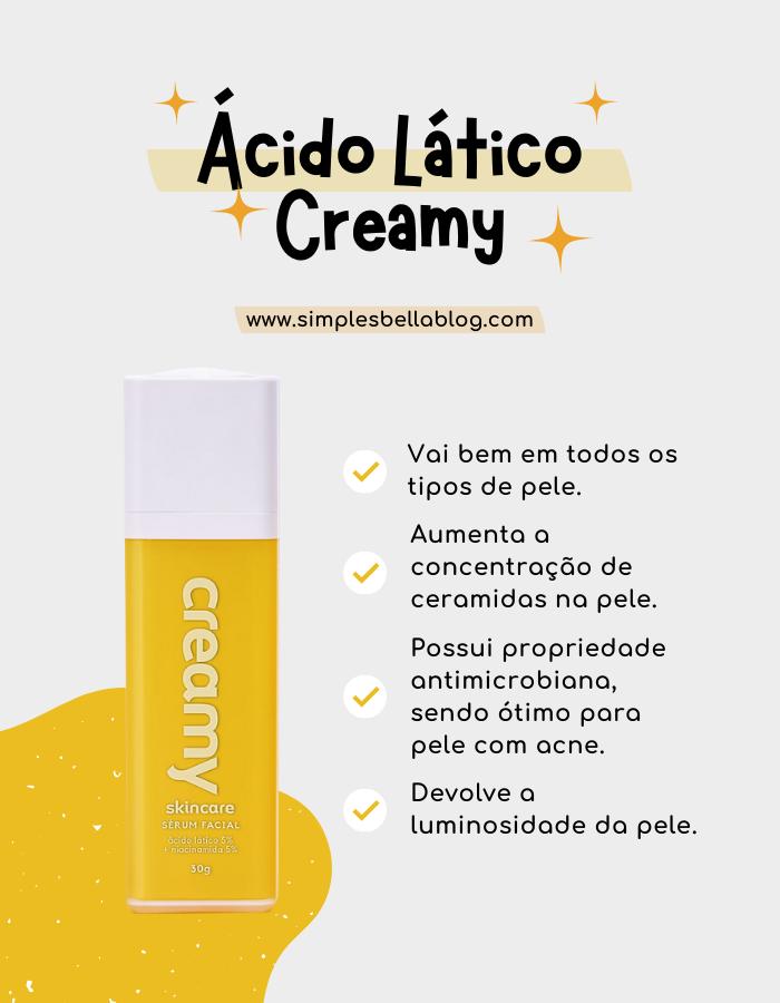 Ácido lático Creamy