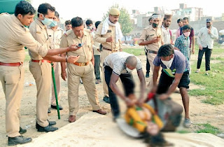 Ghaziabad: Identification of the body of a woman found in a suitcase
