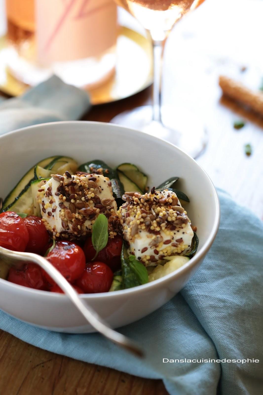 Dans la cuisine de sophie salade d 39 t la f ta - Extraordinaires idees declairage cuisine ...