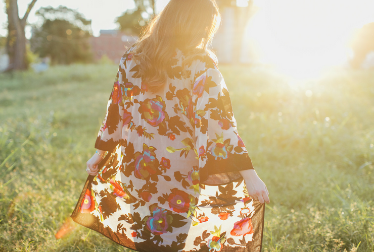 Southern Wardrobe Staples: Flowing Kimono