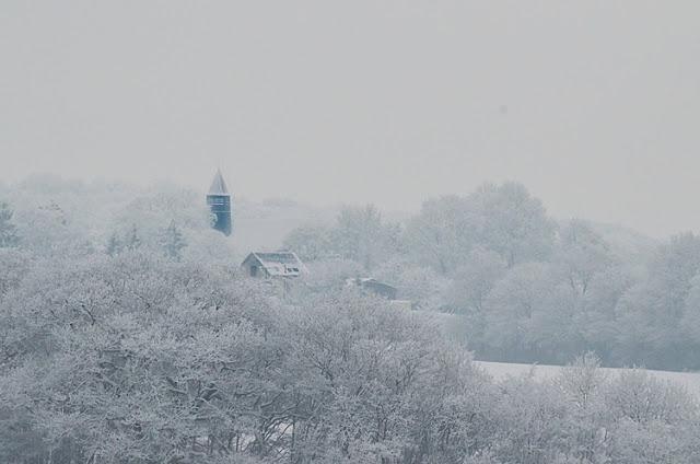 Clocher du village de Fontenouilles Yonne Puisaye