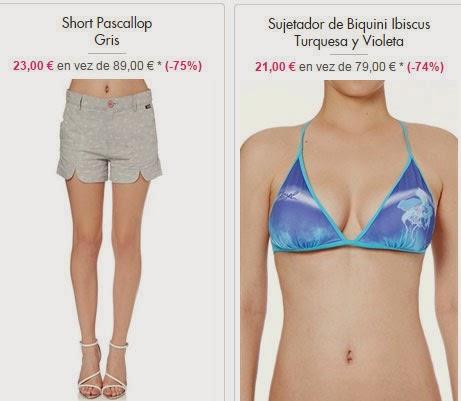 Short y Biquini