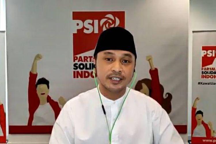 Deklarasi Giring Ganesha Nyapres pada 2024: Modal Mimpi, Dukungan Jokowi, dan Cekaknya Suara PSI