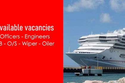 Hiring Crew For Cruise Ship Rank Officers, Ratings