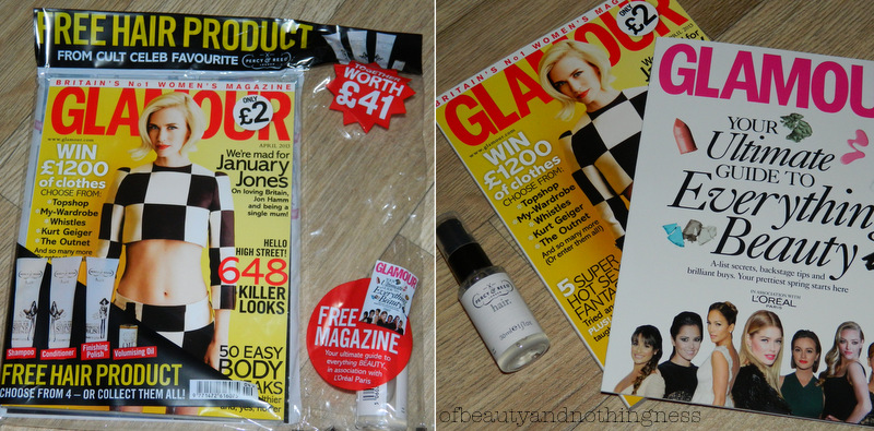 Magazine Freebies: April