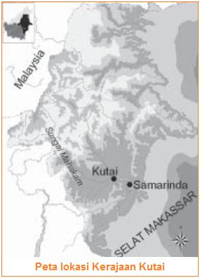 Letak kerajaan kutai dan Raja-Raja Kerajaan Kutai - lokasi kerajaan kutai