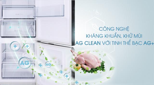 Tủ lạnh Panasonic Inverter 322 lít NR-BC369QKV2