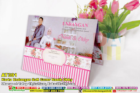 Kartu Undangan Soft Cover Nanik Okky