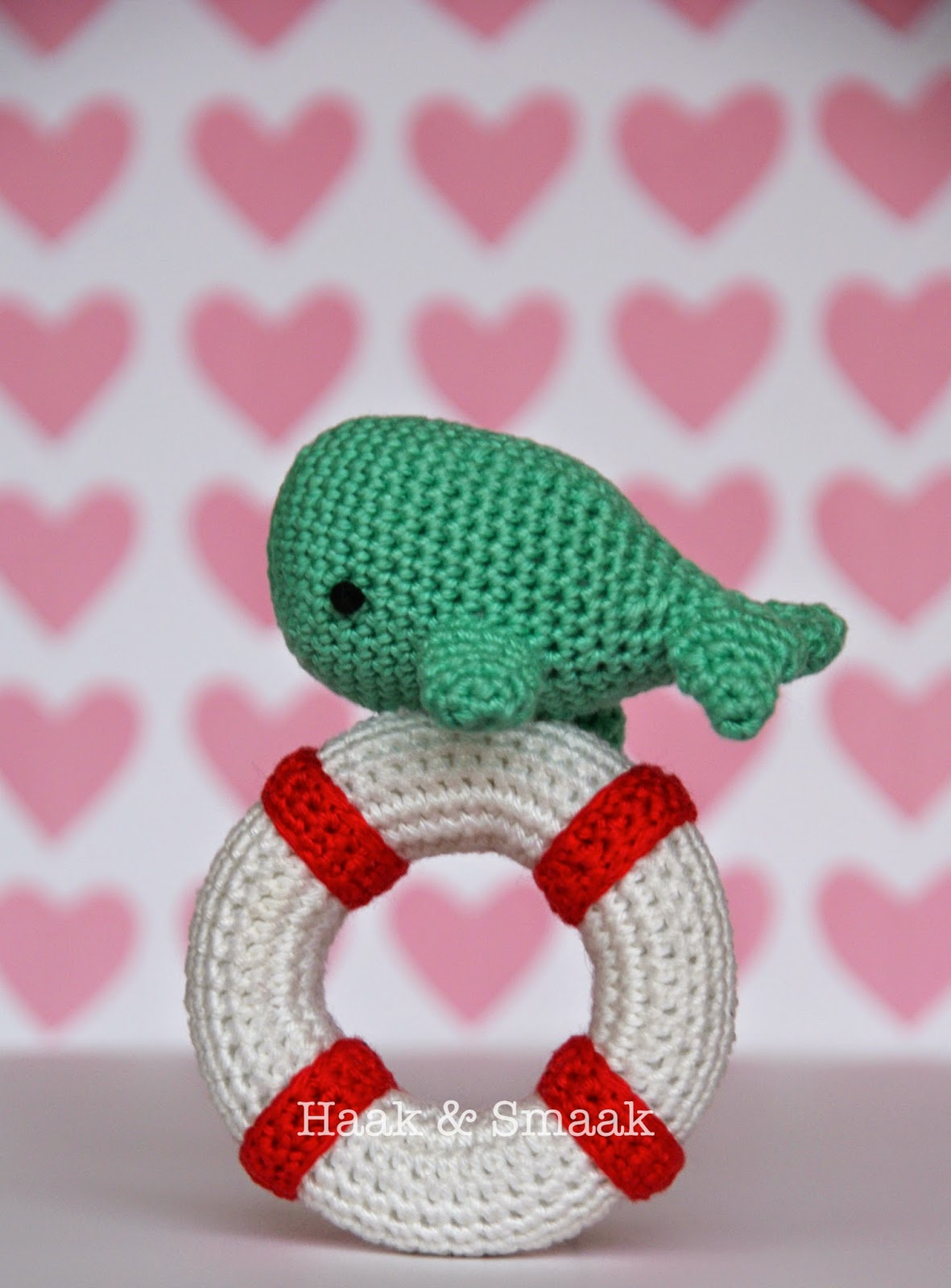Baby whale rattle