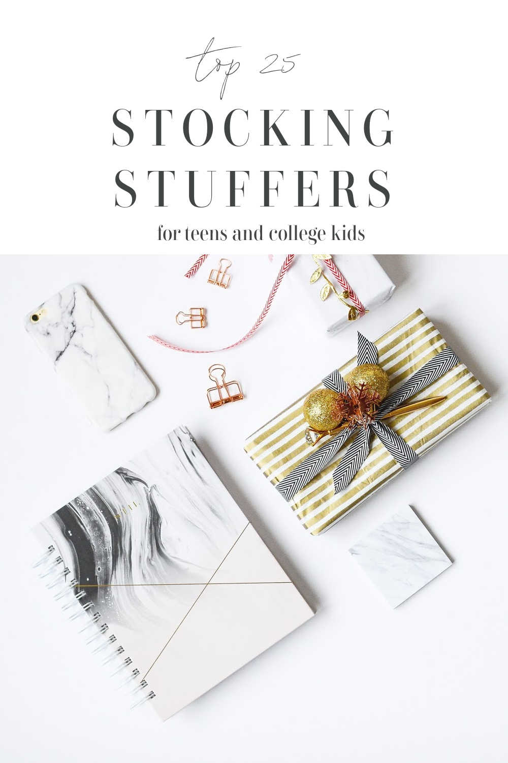 stocking stuffer ideas for teens and young adults