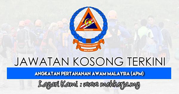 Jawatan Kosong Terkini 2019 di Angkatan Pertahanan Awam Malaysia (APM)
