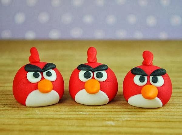 Toppers Personagens Angry Birds: Lilica E Meg Festas: DOCINHOS ANGRY BIRDS