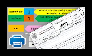 Aplikasi Surat Setoran Pajak (SSP) Dana BOS