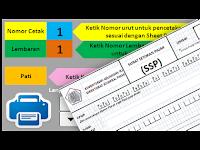 Aplikasi Surat Setoran Pajak (SSP) Laporan Dana BOS Otomatis