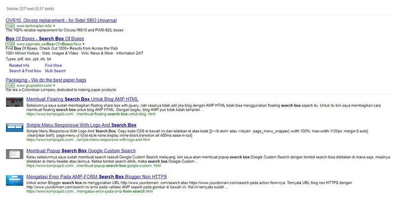 Solusi Custom Search Engine Adsense Untuk Blog AMP HTML