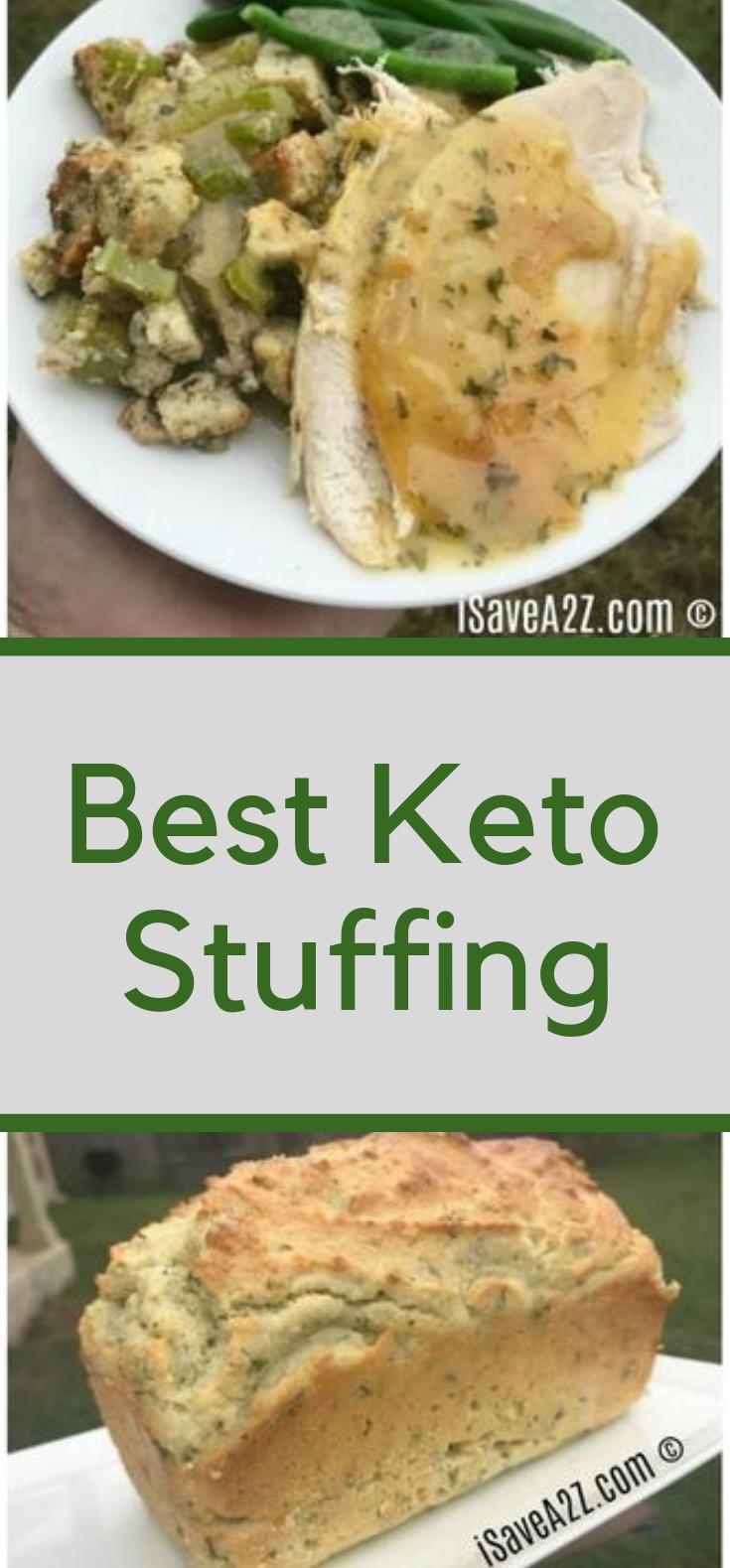 Best Keto Stuffing #dietfood #eadhealthy